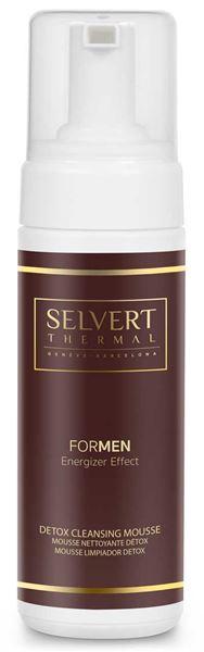 Imagen de Detox Cleansing Mousse Selvert Men 150 ml