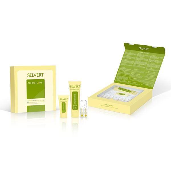 Imagen de Complete & Fast Selvert Deep Skin Cleansing Tratment Pack 4 TRAT