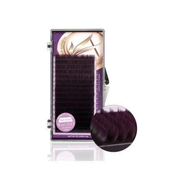 Imagen de Silk Lashes B-Curl 0.20 grosor Adessa 12mm - 14mm violeta