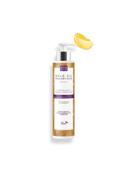Imagen de Gold Oil Radiant Skin Aroms Natur bronceado 100 ml