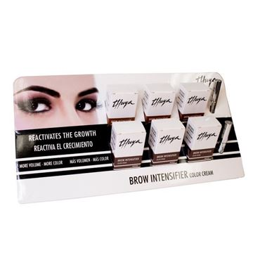 Imagen de Expositor Brow Intensifier Thuya Color Cream Soft-Medium