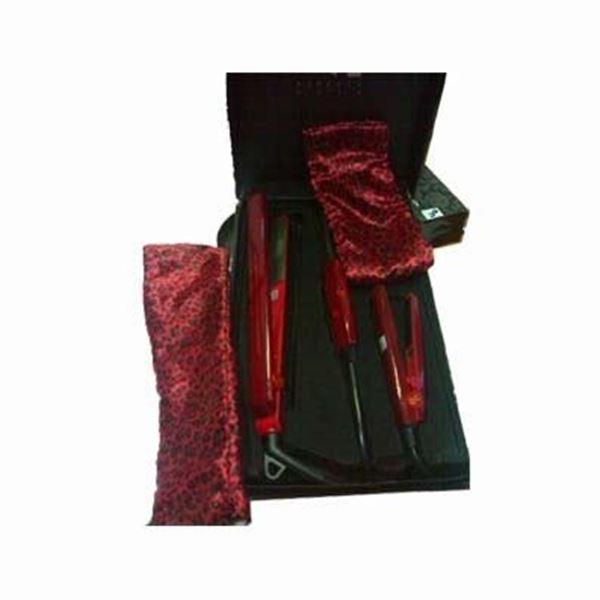 Imagen de Kit Plancha Fashion Style PB Rojo Leopardo