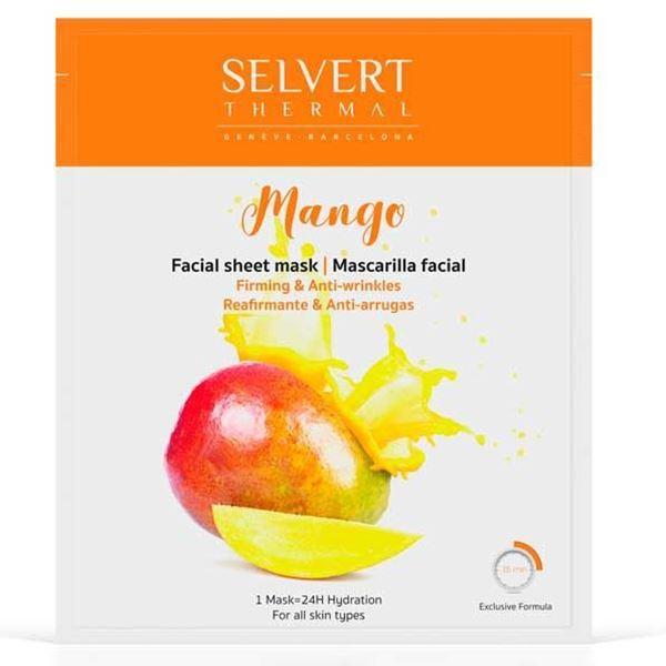 Imagen de Mascarilla Facial Mango Selvert Reafirmante y Antiarrugas