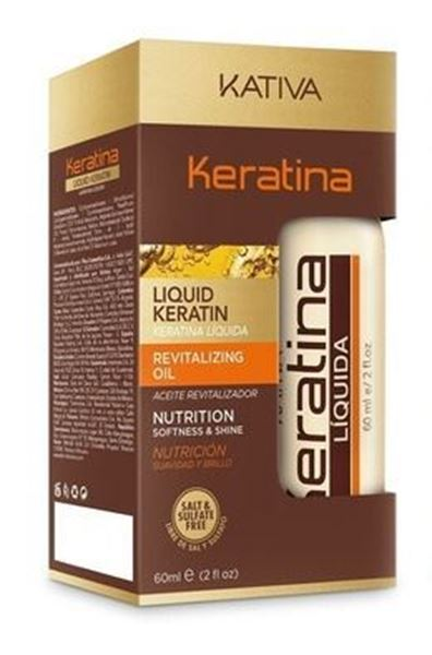 Imagen de Keratina Líquida Kativa Aceite 60 ml