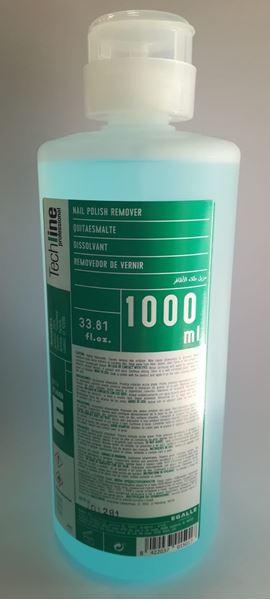 Imagen de Quitaesmalte Techline Egalle con acetona 1000 ml