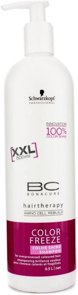 Imagen de BC Color Freeze Shine Schwarzkopf Champú Coloreado 500 ml
