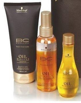 Imagen de BC Oil Miracle Pack Tratamiento Finalizador Schwarzkopf Brillo