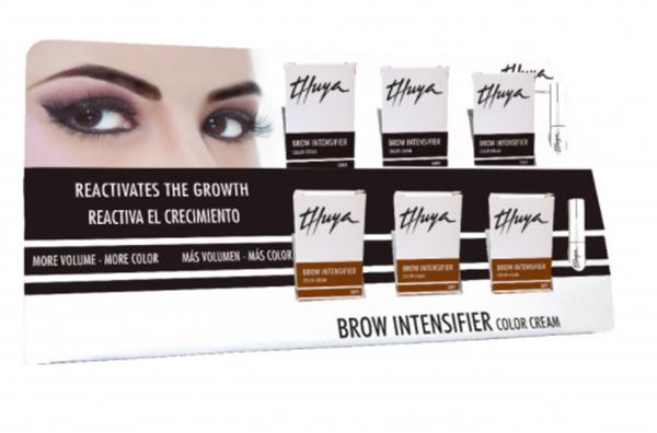 Imagen de Expositor Brow Intensifier Thuya Color Cream Dark-Soft