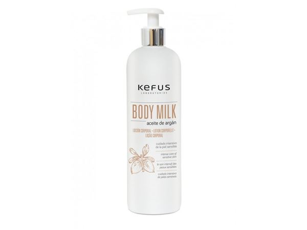Imagen de Body Milk Kefus Argán 500 ml