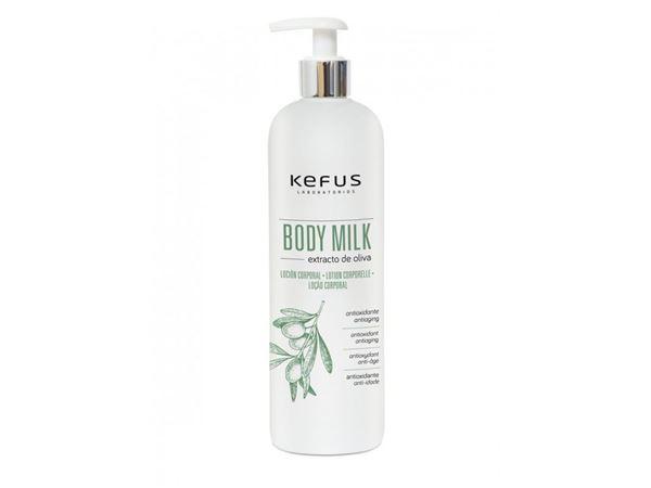 Imagen de Body Milk Kefus Extracto de Oliva 500 ml