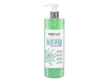 Imagen de Gel Aloe Vera Kefus Natural Verde 200 ml