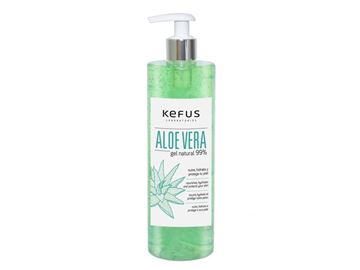 Imagen de Gel Aloe Vera Kefus Natural Verde 500 ml