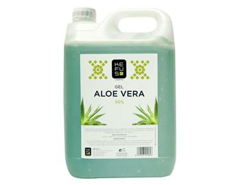Imagen de Gel Aloe Vera Kefus Natural Verde 5000 ml