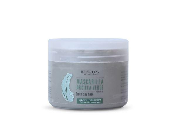 Imagen de Mascarilla Arcilla Verde Kefus Natural 250 ml