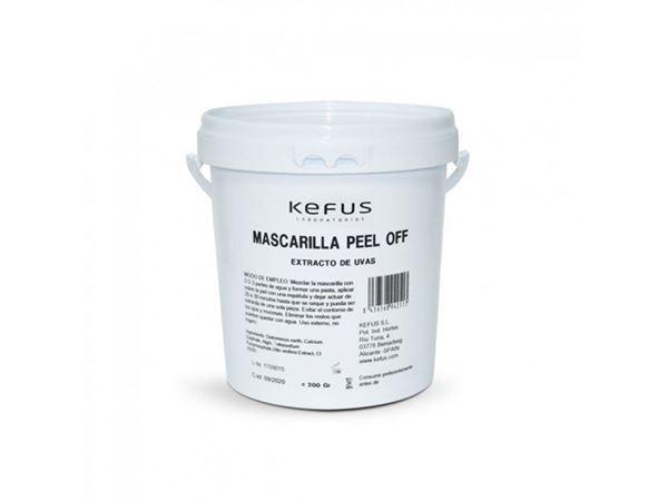 Imagen de Mascarilla Peel Off Kefus Alginato Extracto de Uvas 200 g