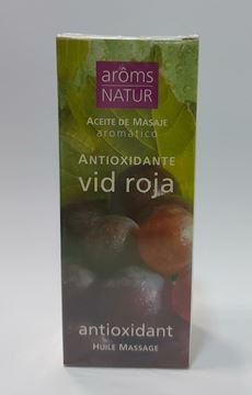 Imagen de Aceite de Masaje Aroms Natur Antioxidante Vid Roja 100 ml