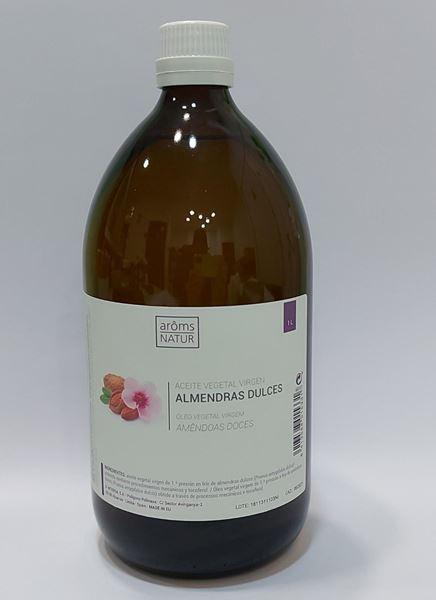 Imagen de Aceite Vegetal Aroms Natur Almendras Dulces 1000 ml