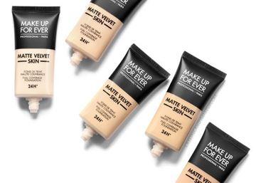 Imagen de Maquillaje Matte Velvet Skin Make Up For Ever Fluid 30 ml