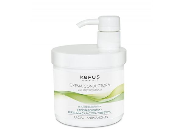 Imagen de Crema Conductora Kefus Facial Antimanchas 500 ml