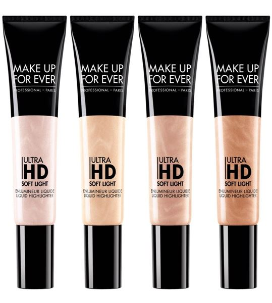 Imagen de Ultra HD Soft Light Make Up For Ever Iluminador 12 ml