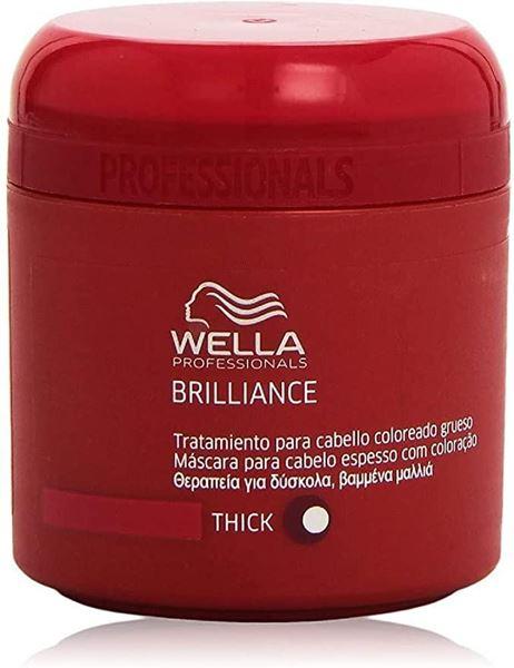 Imagen de Brilliance Tratamiento Wella Cabello Grueso 150 ml