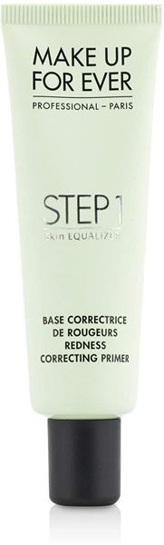 Imagen de Step 1 Redness Primer Make Up For Ever Base Correctora Rojeces 30 ml