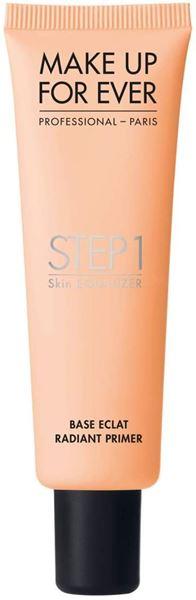 Imagen de Step 1 Radiant Primer Make Up For Ever Base Radiante Peach 30 ml
